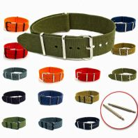 NATO Military Webbing Watch Strap C046
